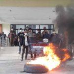 Demo di DPRD Kabupaten Tasikmalaya