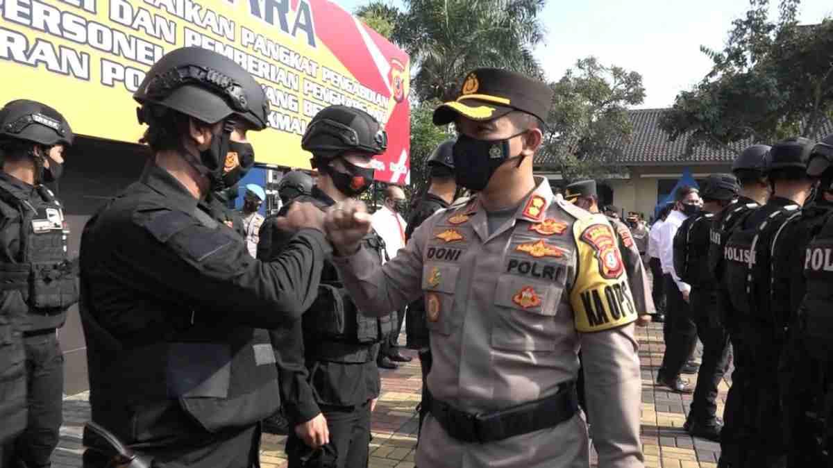 Kapolres Tasikmalaya Kota AKBP Doni Hermawan