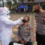 Personel polres Tasikmalaya Kota diswab