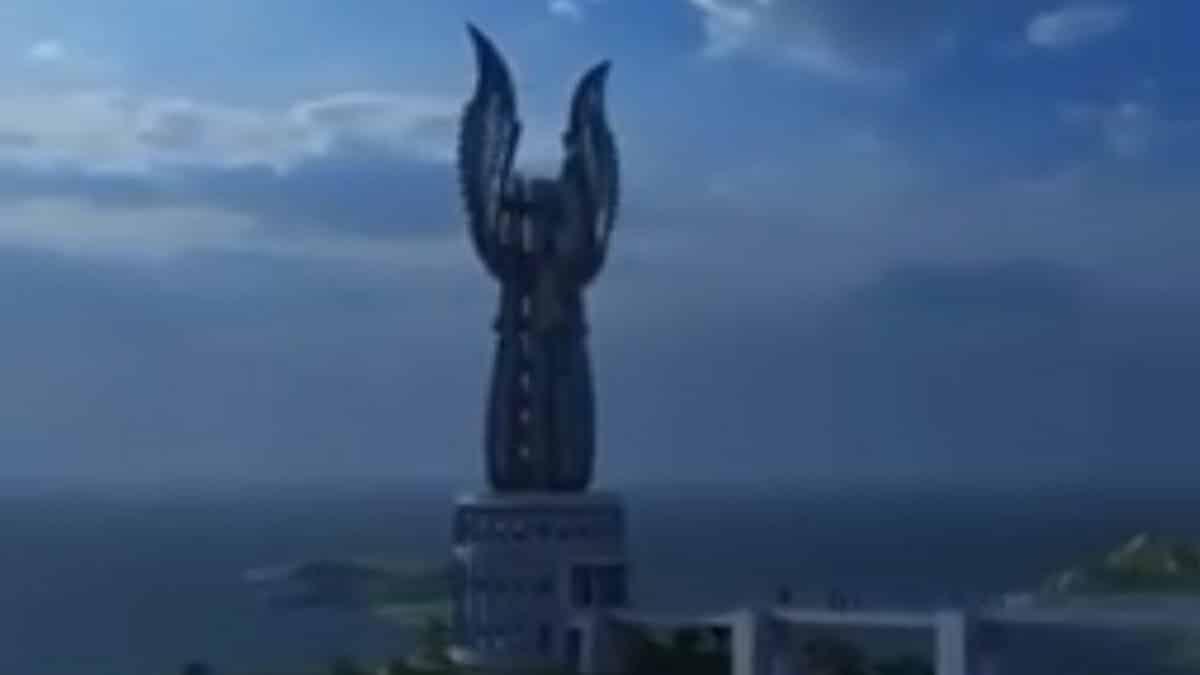 Menara Kujang Sepasang