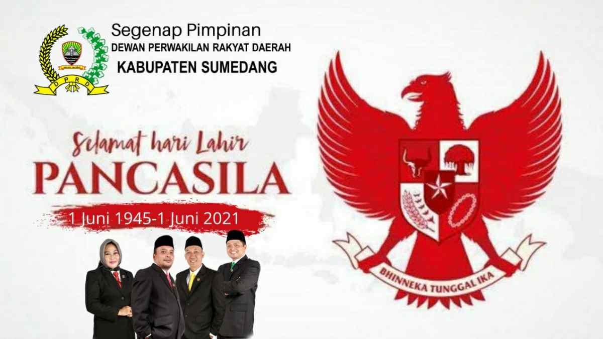 DPRD Sumedang Hari Lahir Pancasila 1 Juni 2021
