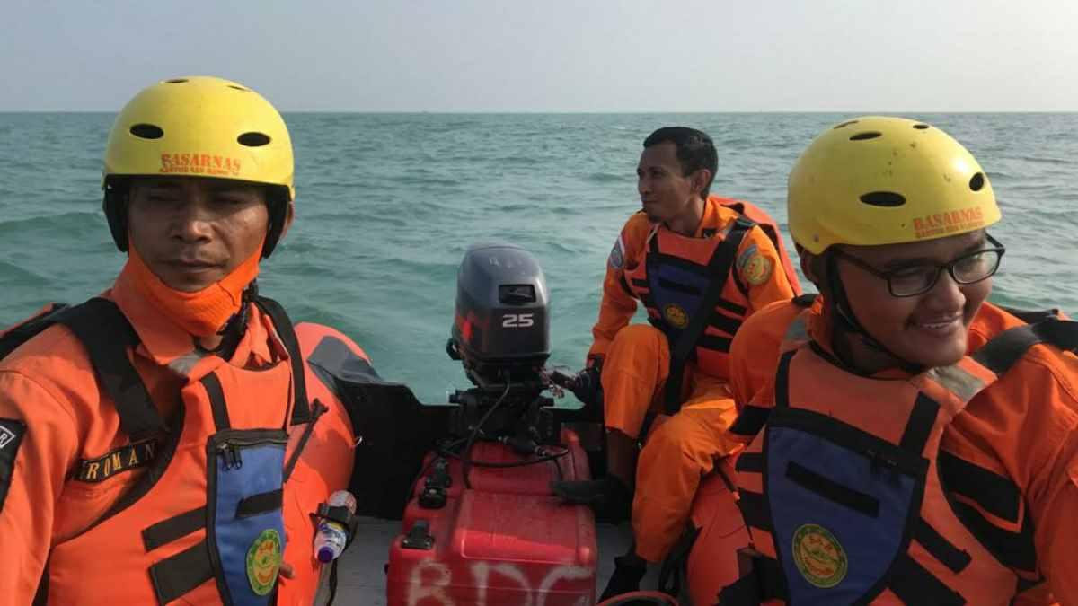 KM Barokah Terbalik di Perairan Subang
