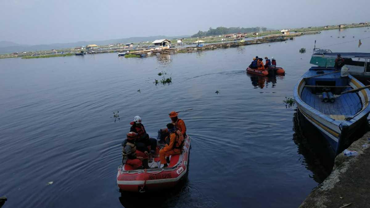 Operasi SAR di Waduk Cirata Bandung Barat