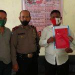 Dede Mulyana mendaftar di Pilkades Sawahdadap
