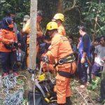 Basarnas evakuasi warga Manonjaya tasikmalaya