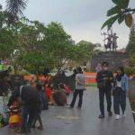 Kala Senja di Alun-alun Kota Tasikmalaya