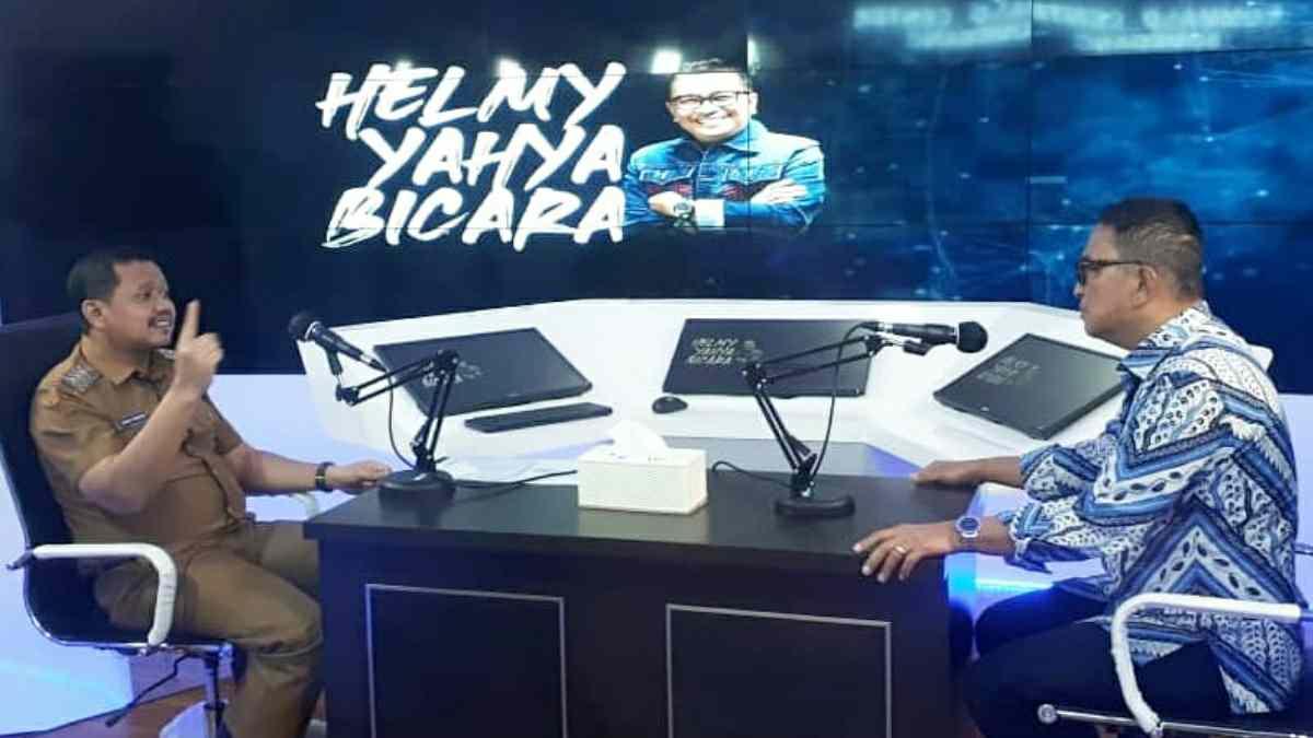 Bupati Sumedang di Podcast Helmy Yahya