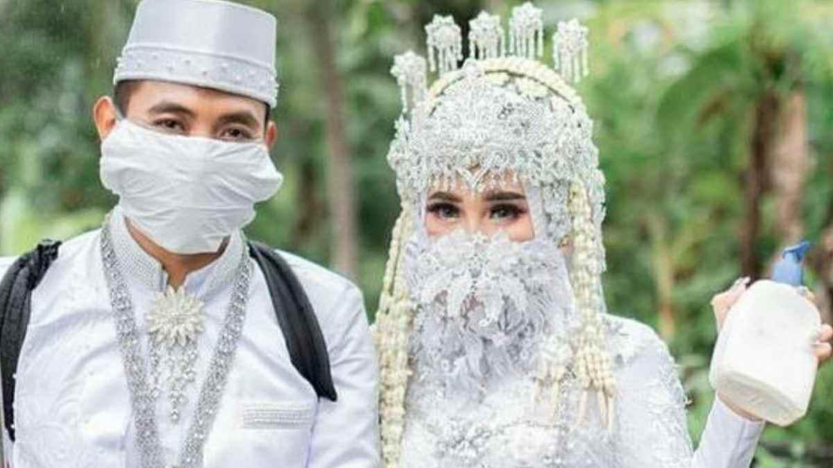 resepsi pernikahan dengan tetap menjalankan protokol kesehatan